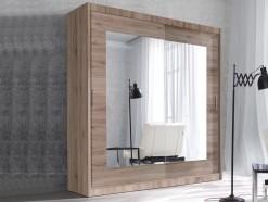 Amero - Armoire 2 portes coulissantes 200 cm