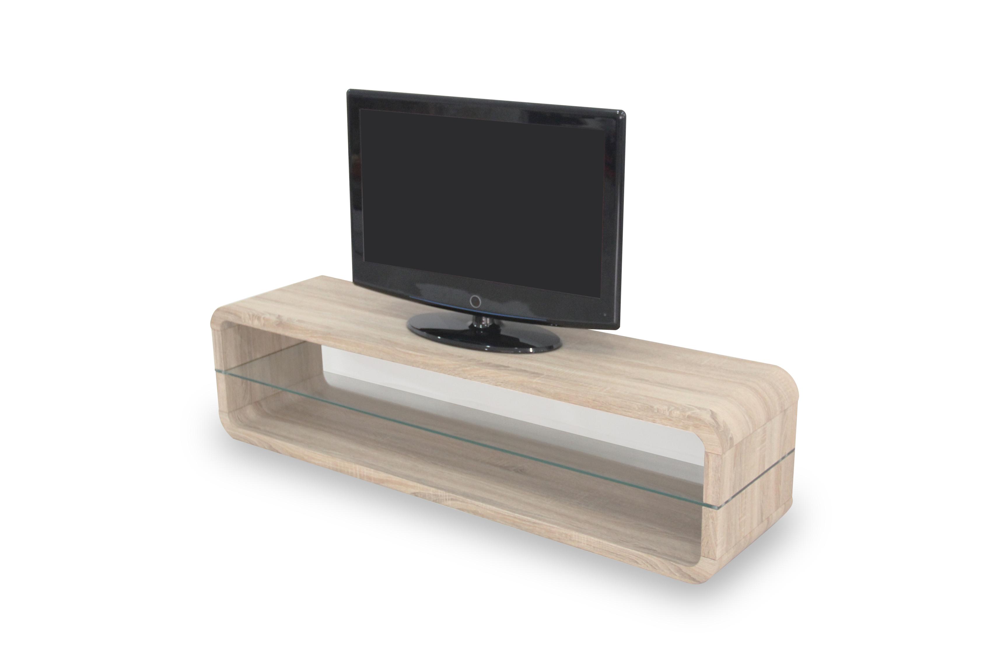 R 2100 Meuble Tv Lcd 140 Cm Ch Ne Sonoma Modiva # Meuble Tv Sonoma