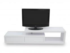 R-2110 - Meuble TV-LCD 180 cm blanc laqué