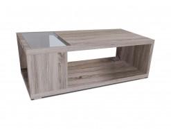 Carolina - Table basse 060 x 120 cm chêne sonoma foncé