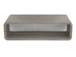 Record - Table basse coloris chêne sonoma foncé