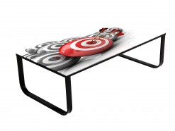 Illusion - Table basse design Target