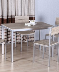 NINA - TABLE + 4 CHAISES