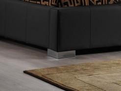 Karl - Lit design 160 x 200 cm - pied métal