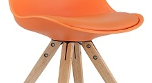 STOLLI - CHAISE ULTRA DESIGN EN ORANGE