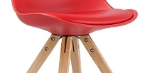 STOLLI - CHAISE ULTRA TENDANCE EN ROUGE