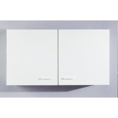 Kitchen Armoire Murale 100 Cm Blanc Modiva