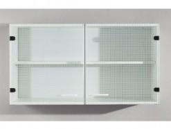 Kitchen - Armoire murale 100 CM vitrée - Blanc
