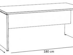 Thalès - Bureau 180 cm