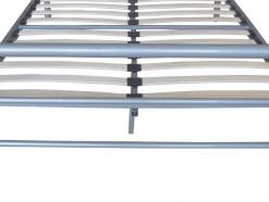 MITO - LIT 140 X 200 CM ULTRA DESIGN EN METAL GRIS