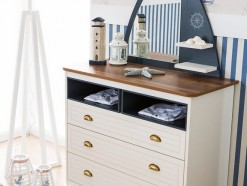 AMIRAL - COMMODE 3 TIROIRS