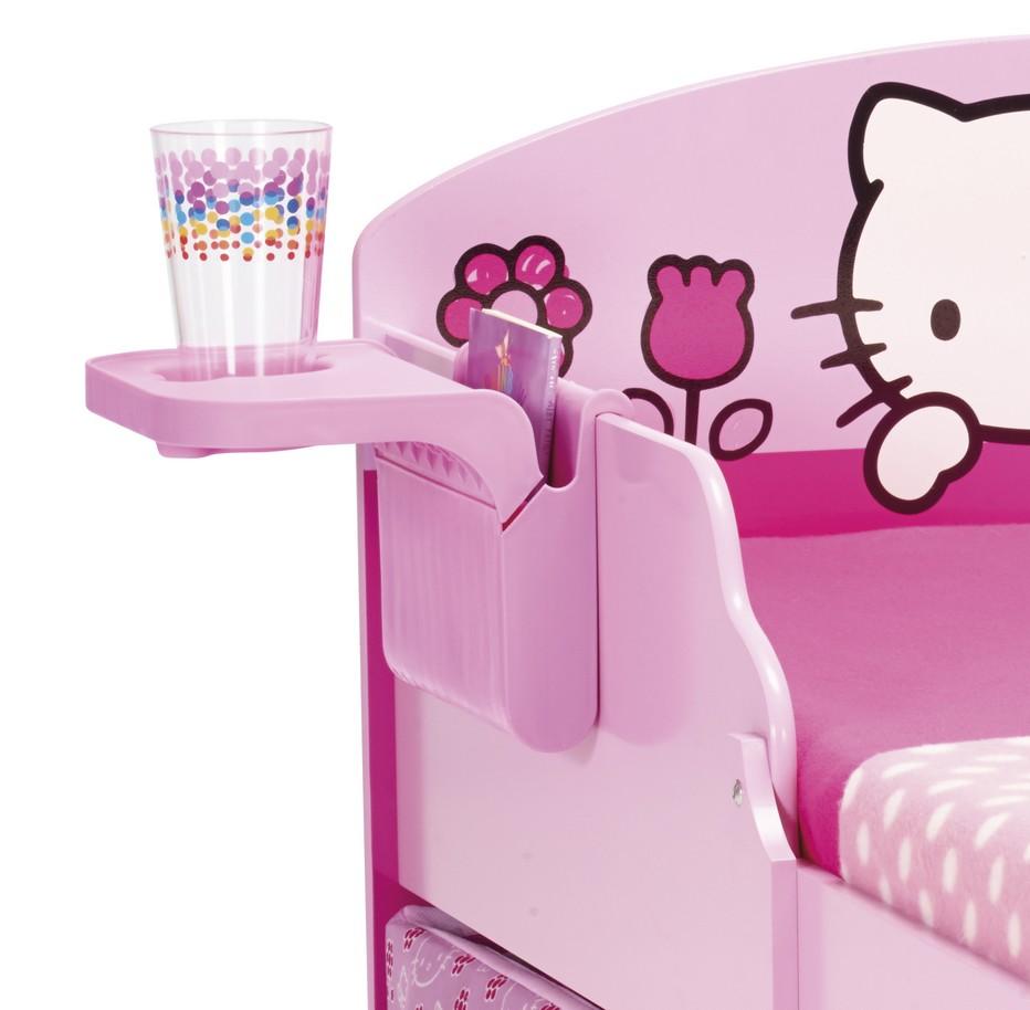 produit hello kitty lit x cm avec tiroirs