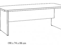 MAESTRO - SCHEMA BUREAU 190 CM