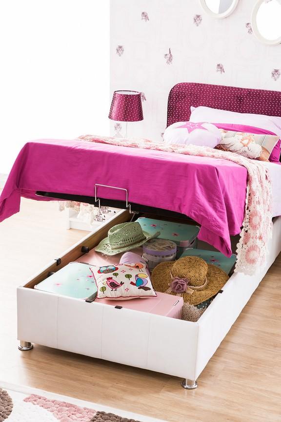 violetta - lit-coffre enfant design 120x200 cm | modiva