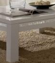 AMOR CROMO - TABLE BASSE BLANC LAQUE