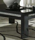 AMOR CROMO - TABLE BASSE NOIR LAQUE