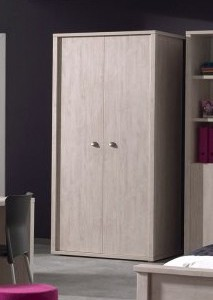 MELODIE-ARMOIRE 2 PORTES 2